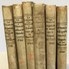 Libros antiguos: ENSAYO HISTORICO-APOLOGETICO DE LA LITERATURA ESPAÑOLA CONTRA LAS OPINIONES PREOCUPADAS DE ALGUNOS... Lote 235643205
