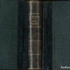Livros antigos: ARTE CISORIA O TRATADO DEL ARTE DEL CORTAR DEL CUCHILLO - VILLENA, MARQUÉS DE (ENRIQUE DE ARAGÓN). Lote 207502980