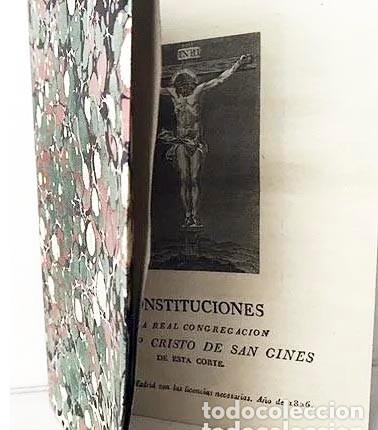 Libros antiguos: San Ginés. Madrid : Real Congregación del Cristo de San Ginés de esta Corte. (1826) Grabado - Foto 3 - 235670075