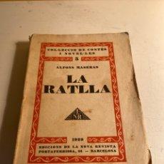 Libros antiguos: LA RATLLA. Lote 235713810