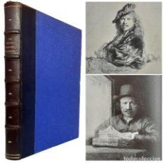 Libros antiguos: 1914 - ARTE - GRANDES PINTORES-GRABADORES DESDE REMBRANDT HASTA WHISTLER - PRECIOSO LIBRO ILUSTRADO. Lote 235834825