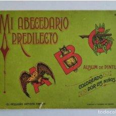 Livres anciens: MI ABECEDARIO PREDILECTO, N° 53 - ALBUM DE PINTURA - EL PEQUEÑO ARTISTA PINTOR. Lote 235848760