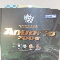Libros antiguos: ANUARIO DEPORTIVO 2006 - FEDERACION GALEGA DE AUTOMOBILISMO. Lote 235870140