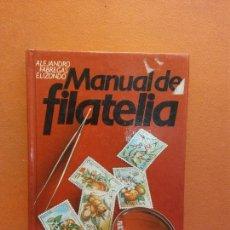Libros antiguos: MANUAL DE FILATELIA. ALEJANDRO FABREGAS ELIZONDO. CÍRCULO DE LECTORES. Lote 277714018