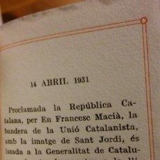 Libros antiguos: SANT JORDI. CURIÓS LLIBRE EN MINIATURA. 1932.. Lote 236183065