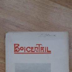 Libros antiguos: BOICENTRIL, DRUISMO E O CELTISMO GALLEGOS. AÑO 1912.. Lote 236335665