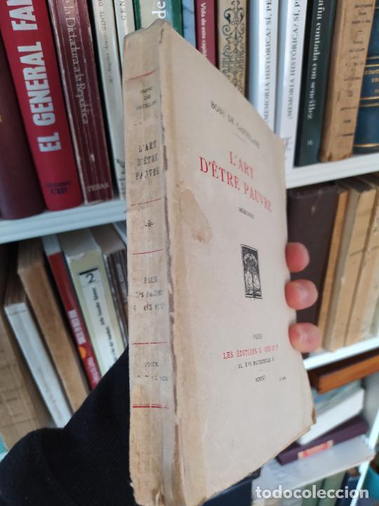 Libros antiguos: lart detre pauvre (mémoires) de de castellane boni, Editions Georges Crès Et Cie, 1925 RARE - Foto 4 - 236524195