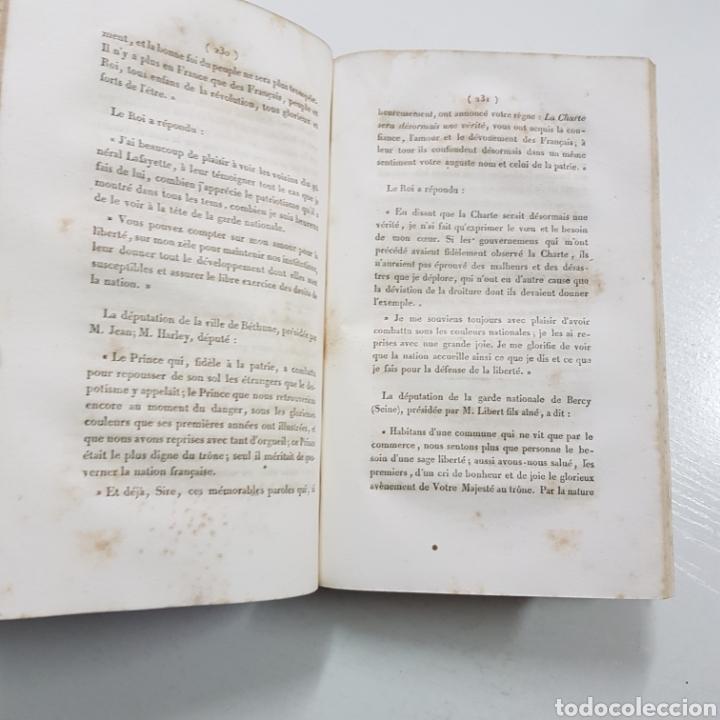 Libros antiguos: DISCOURS ALLOCUTIONS ET REPONSES DE S. M. LOUIS PHILPPE ROI DES FRANCAIS 1830 MADAME VEUVE 1833 - Foto 4 - 236718185