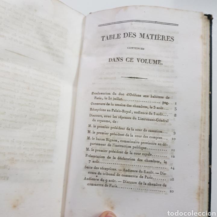 Libros antiguos: DISCOURS ALLOCUTIONS ET REPONSES DE S. M. LOUIS PHILPPE ROI DES FRANCAIS 1830 MADAME VEUVE 1833 - Foto 5 - 236718185