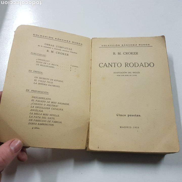 Libros antiguos: CANTO RODADO 1923 B. M. CROKER - COLECCION SANCHEZ RUEDA - Foto 2 - 236721345