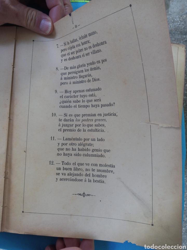 Libros antiguos: El oraculos de los niños y Fábulas - 1902 - Foto 4 - 236754820