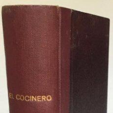 Libros antiguos: EL COCINERO PRÁCTICO. NUEVO TRATADO DE COCINA REPOSTERÍA Y PASTELERÍA CON INTERESANTES ARTÍCULOS.... Lote 237083685