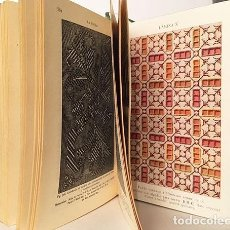 Libros antiguos: LABORES DE SEÑORA. (COSTURA; BORDADO; TAPICERÍA; MACRAMÉ; CALADOS; ENCAJES; BOLILLOS; ETC). Lote 237109815