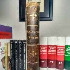 Libros antiguos: EL CARPINTERO MODERNO - JUAN JUSTO UGUET - TOMO 1 - MEDIA PIEL + REGALO VER .... Lote 237250385