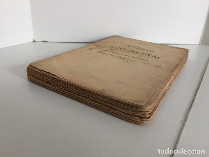 Libros antiguos: E. RAMIREZ-ANGEL. MADRID SENTIMENTAL. BIBLIOTECA ECONÓMICA SELECTA. PEREZ VILLACENCIO, EDITOR. 1907. - Foto 4 - 237264800