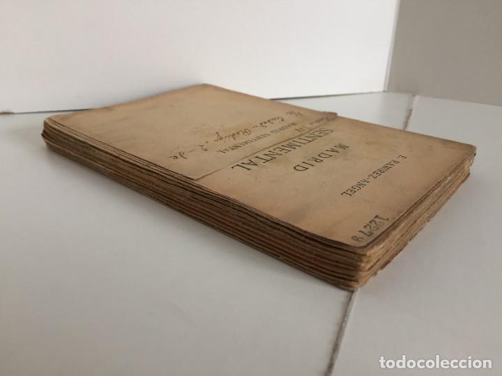 Libros antiguos: E. RAMIREZ-ANGEL. MADRID SENTIMENTAL. BIBLIOTECA ECONÓMICA SELECTA. PEREZ VILLACENCIO, EDITOR. 1907. - Foto 5 - 237264800