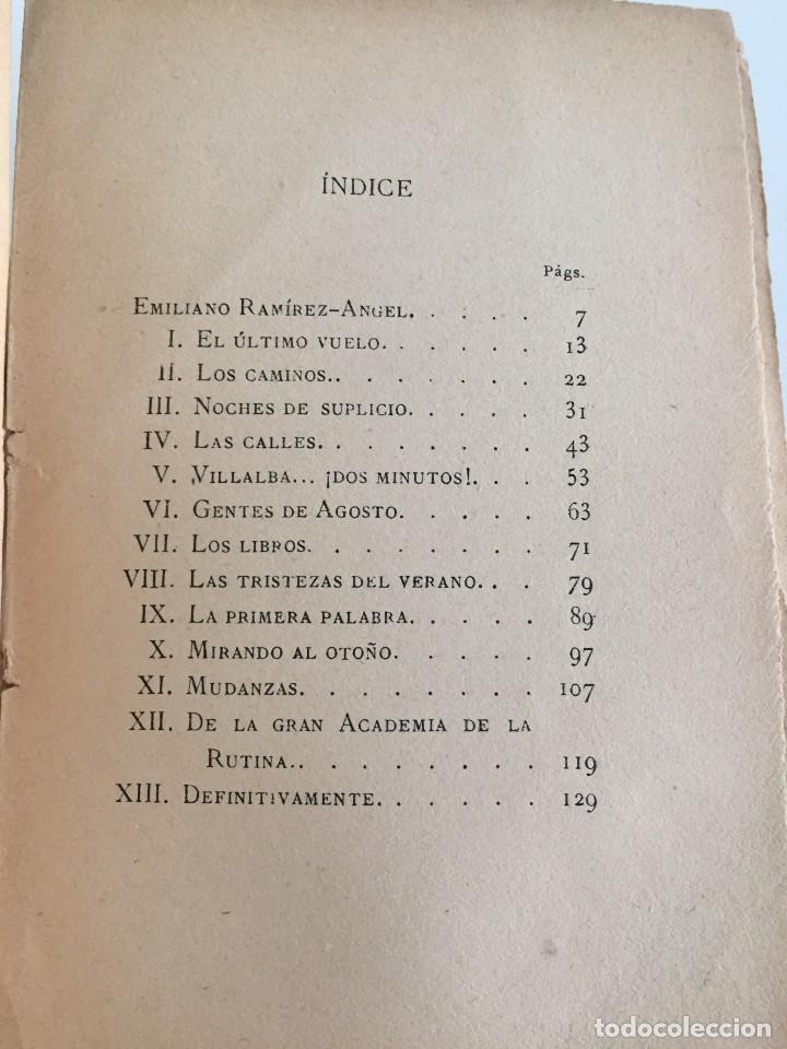 Libros antiguos: E. RAMIREZ-ANGEL. MADRID SENTIMENTAL. BIBLIOTECA ECONÓMICA SELECTA. PEREZ VILLACENCIO, EDITOR. 1907. - Foto 9 - 237264800