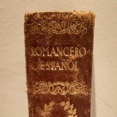 Libros antiguos: ROMANCERO ESPAÑOL - AGUILAR - 1930. Lote 237372070