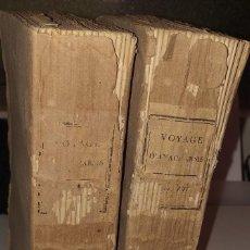 Libros antiguos: VOYAGE DU JEUNE ANACHARSIS EN GRECE - TOMOS III Y VII. Lote 30420148