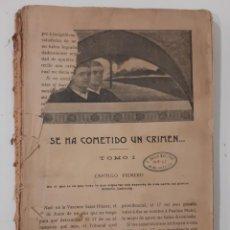 Libros antiguos: LA NOVELA DE AHORA. VARIAS OBRAS. SIN CUBIERTAS. SIN FECHA (AÑOS 10-20?). Lote 237558250