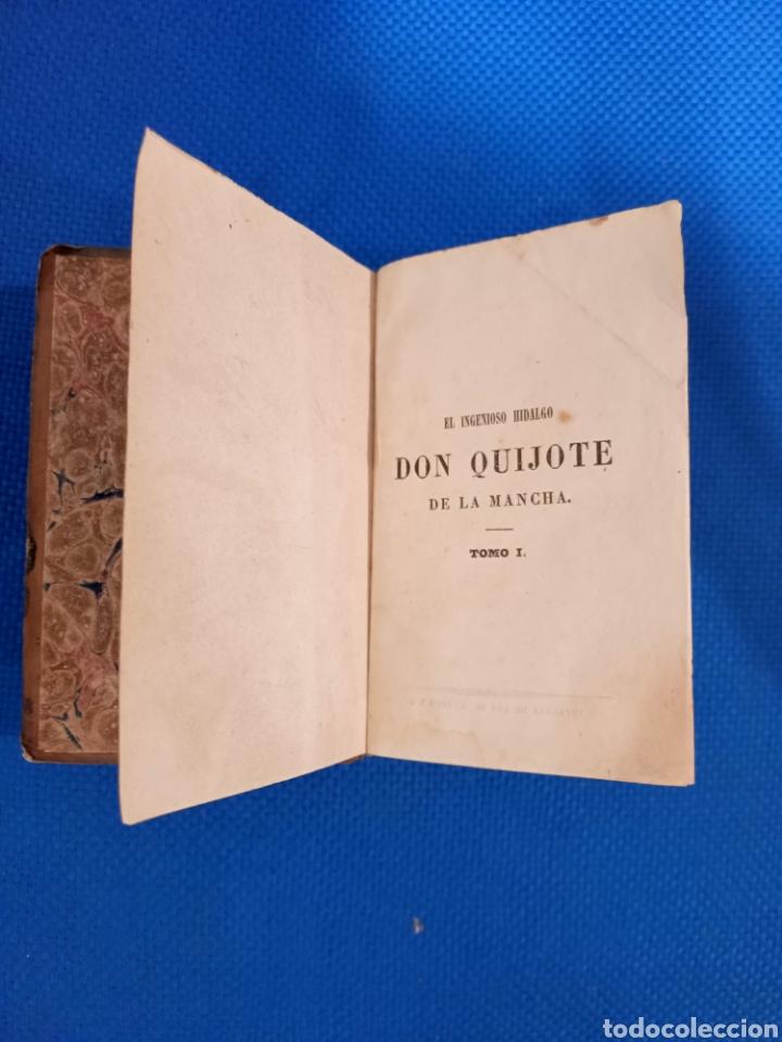 Libros antiguos: El Ingenioso Hidalgo Don Quijote de la Mancha - Foto 4 - 237575100