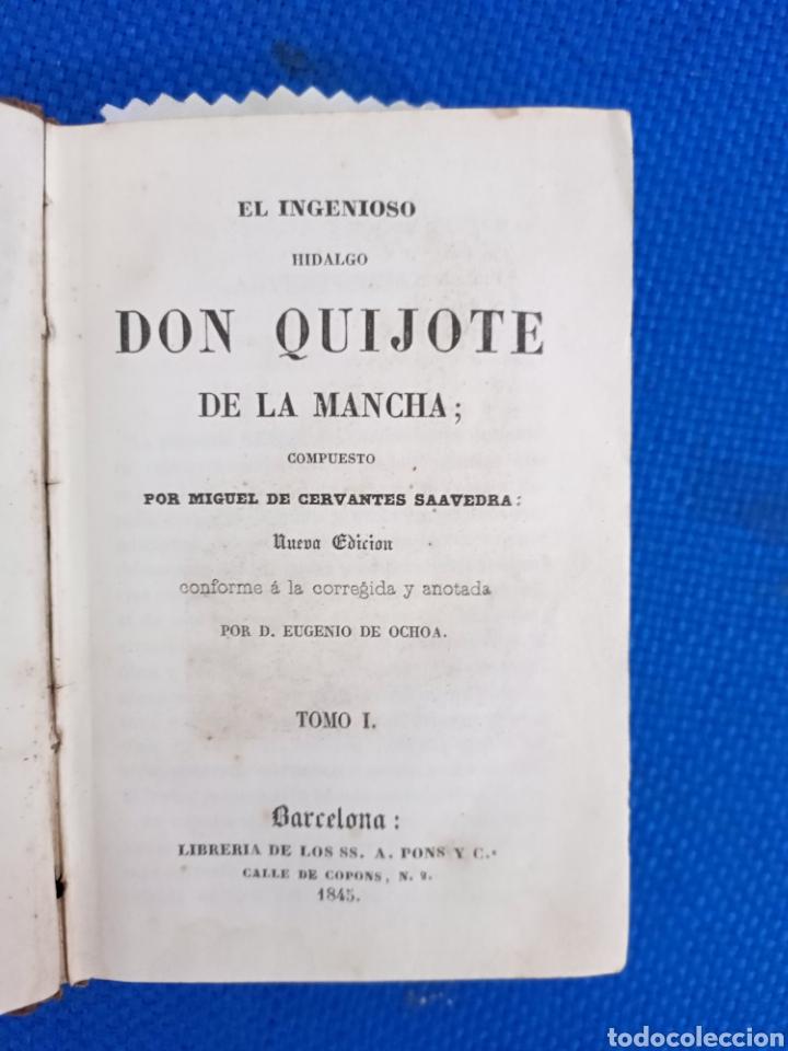 EL INGENIOSO HIDALGO DON QUIJOTE DE LA MANCHA (Libros antiguos (hasta 1936), raros y curiosos - Literatura - Narrativa - Otros)