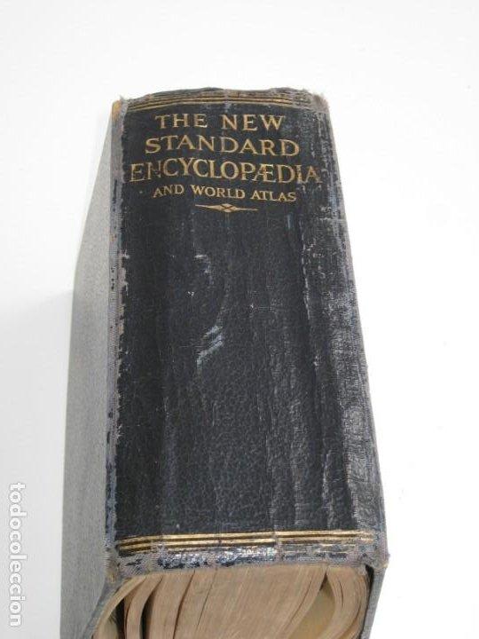 Libros antiguos: The New Standard Encyclopedia and World Atlas. 1932. - Foto 2 - 237713205