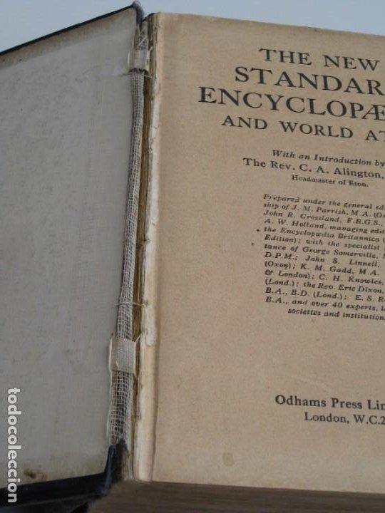 Libros antiguos: The New Standard Encyclopedia and World Atlas. 1932. - Foto 4 - 237713205