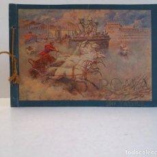 Libros antiguos: FABULOSO LIBRO DE FOTOLITOGRAFIAS ROMA 130 TAVOLE 100 AÑOS. Lote 237906240