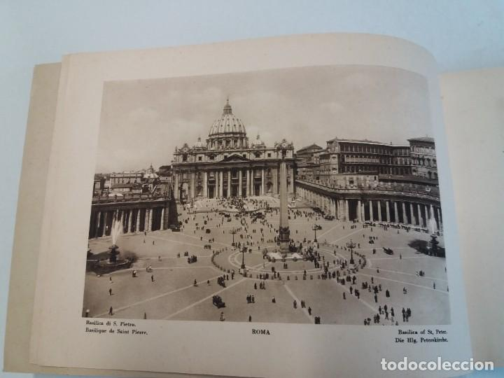 Libros antiguos: FABULOSO LIBRO DE FOTOLITOGRAFIAS ROMA 130 TAVOLE 100 AÑOS - Foto 3 - 237906240