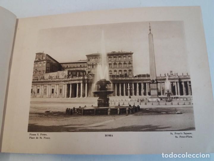 Libros antiguos: FABULOSO LIBRO DE FOTOLITOGRAFIAS ROMA 130 TAVOLE 100 AÑOS - Foto 4 - 237906240