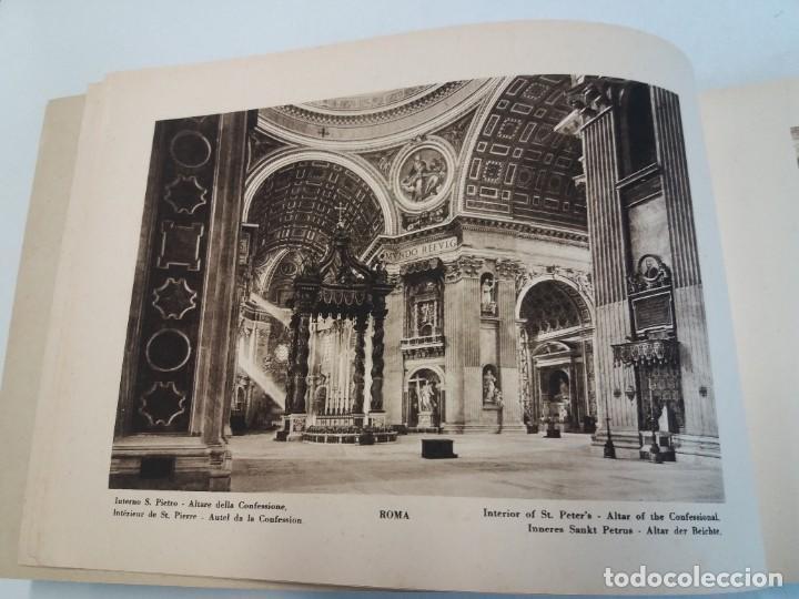 Libros antiguos: FABULOSO LIBRO DE FOTOLITOGRAFIAS ROMA 130 TAVOLE 100 AÑOS - Foto 5 - 237906240