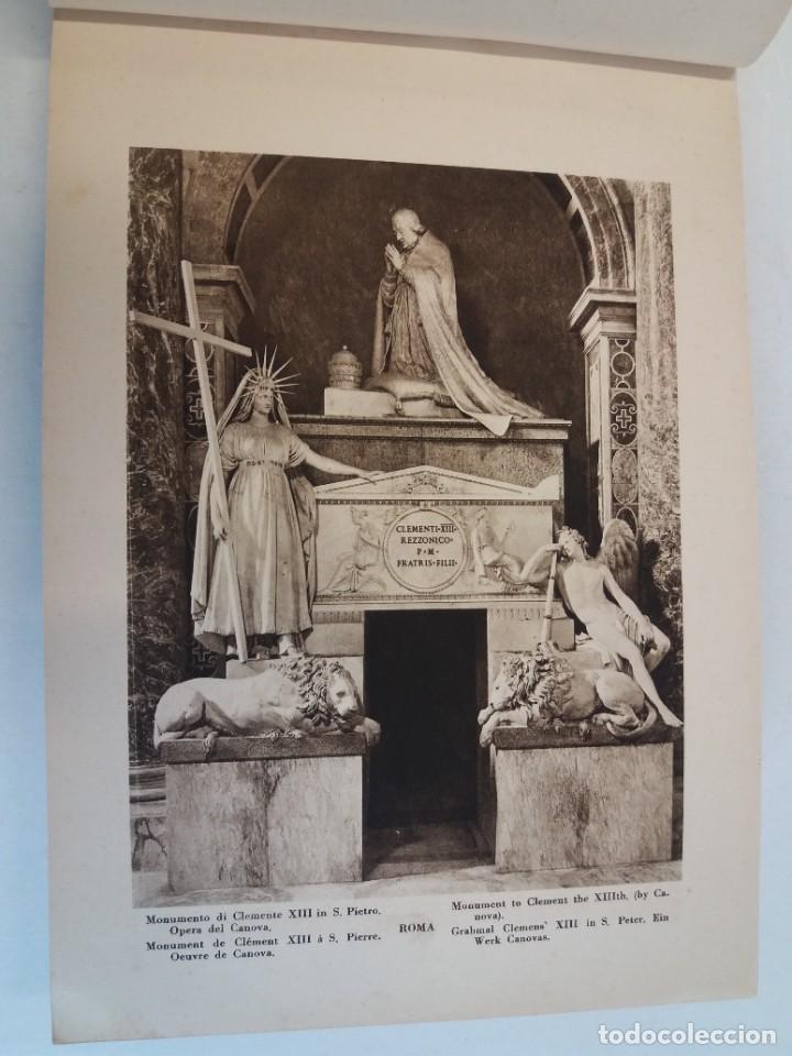 Libros antiguos: FABULOSO LIBRO DE FOTOLITOGRAFIAS ROMA 130 TAVOLE 100 AÑOS - Foto 6 - 237906240