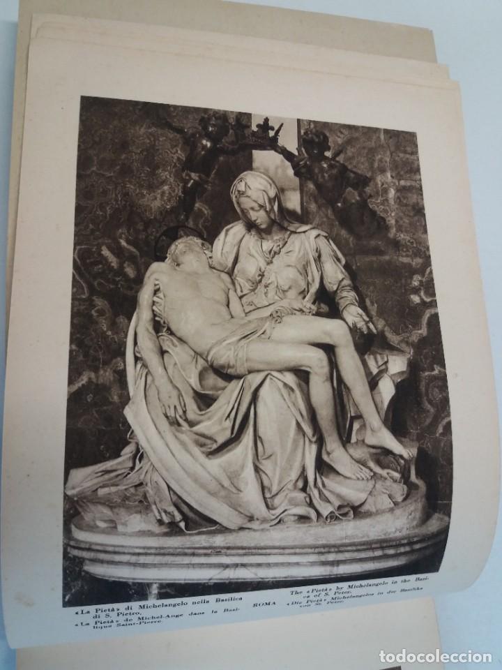 Libros antiguos: FABULOSO LIBRO DE FOTOLITOGRAFIAS ROMA 130 TAVOLE 100 AÑOS - Foto 7 - 237906240