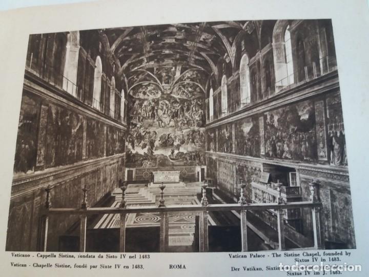 Libros antiguos: FABULOSO LIBRO DE FOTOLITOGRAFIAS ROMA 130 TAVOLE 100 AÑOS - Foto 8 - 237906240