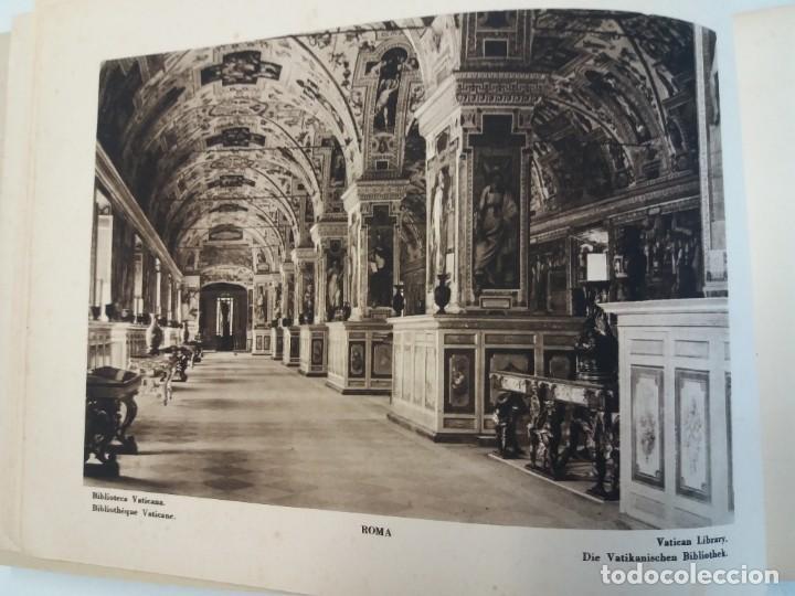 Libros antiguos: FABULOSO LIBRO DE FOTOLITOGRAFIAS ROMA 130 TAVOLE 100 AÑOS - Foto 9 - 237906240