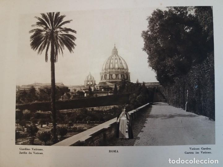 Libros antiguos: FABULOSO LIBRO DE FOTOLITOGRAFIAS ROMA 130 TAVOLE 100 AÑOS - Foto 10 - 237906240