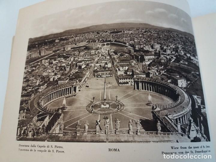 Libros antiguos: FABULOSO LIBRO DE FOTOLITOGRAFIAS ROMA 130 TAVOLE 100 AÑOS - Foto 11 - 237906240