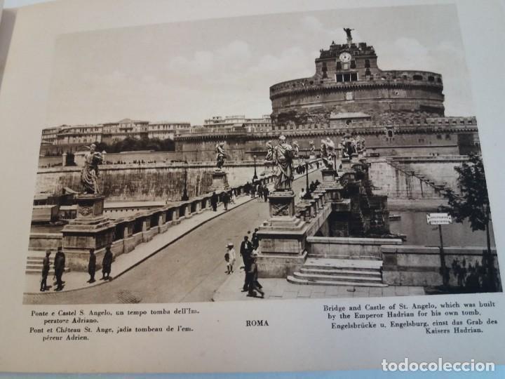 Libros antiguos: FABULOSO LIBRO DE FOTOLITOGRAFIAS ROMA 130 TAVOLE 100 AÑOS - Foto 12 - 237906240