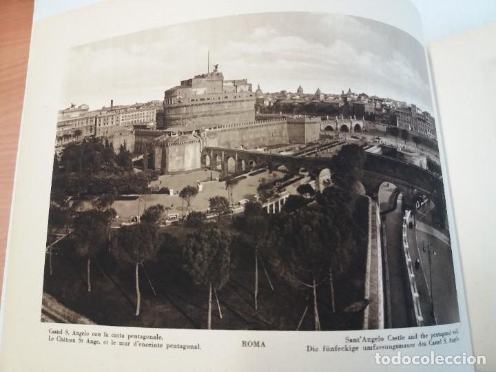 Libros antiguos: FABULOSO LIBRO DE FOTOLITOGRAFIAS ROMA 130 TAVOLE 100 AÑOS - Foto 13 - 237906240