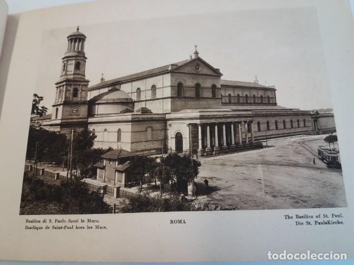 Libros antiguos: FABULOSO LIBRO DE FOTOLITOGRAFIAS ROMA 130 TAVOLE 100 AÑOS - Foto 14 - 237906240