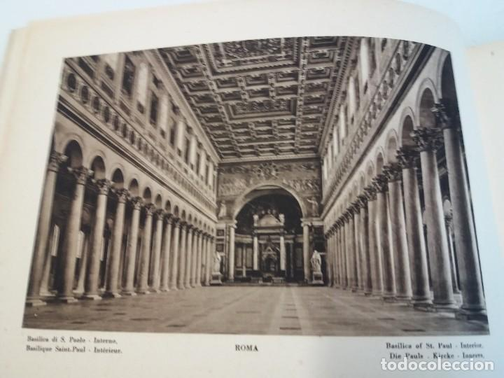 Libros antiguos: FABULOSO LIBRO DE FOTOLITOGRAFIAS ROMA 130 TAVOLE 100 AÑOS - Foto 15 - 237906240