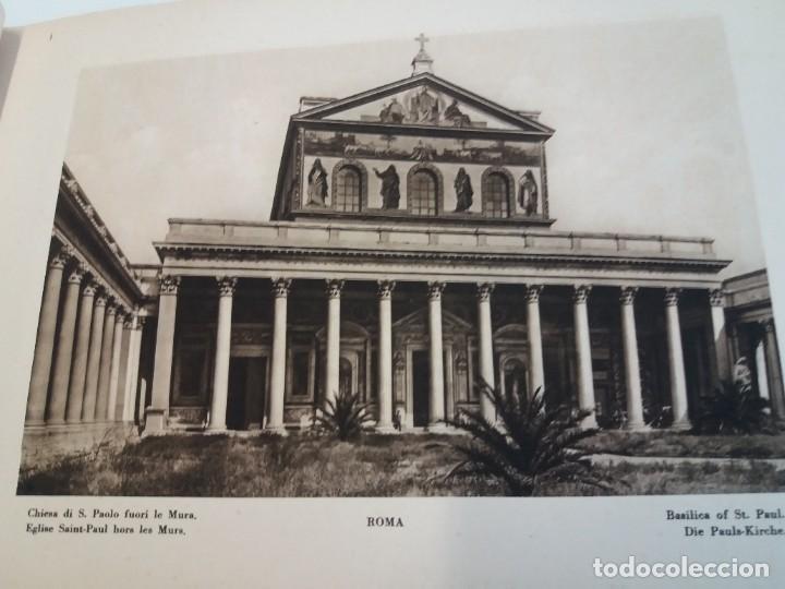 Libros antiguos: FABULOSO LIBRO DE FOTOLITOGRAFIAS ROMA 130 TAVOLE 100 AÑOS - Foto 16 - 237906240