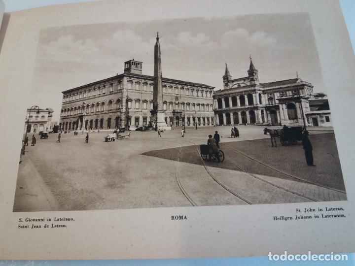 Libros antiguos: FABULOSO LIBRO DE FOTOLITOGRAFIAS ROMA 130 TAVOLE 100 AÑOS - Foto 17 - 237906240