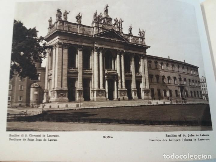 Libros antiguos: FABULOSO LIBRO DE FOTOLITOGRAFIAS ROMA 130 TAVOLE 100 AÑOS - Foto 18 - 237906240