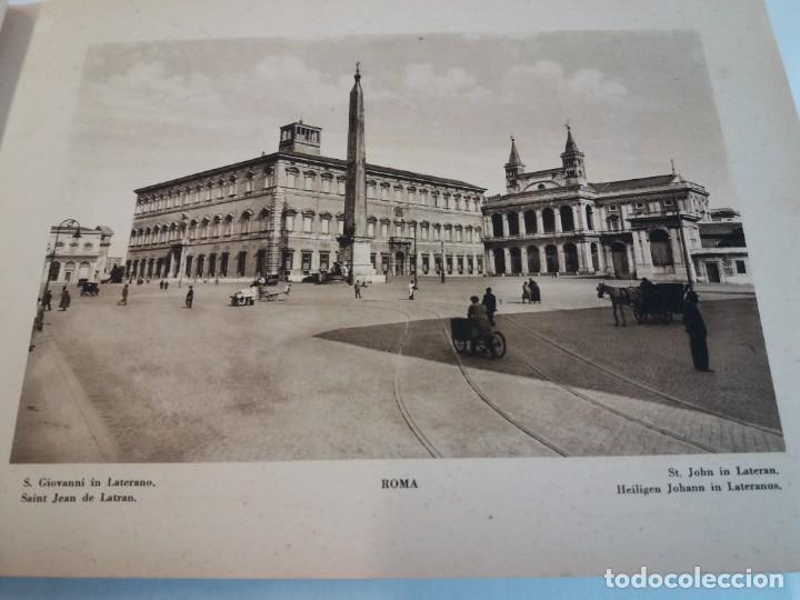 Libros antiguos: FABULOSO LIBRO DE FOTOLITOGRAFIAS ROMA 130 TAVOLE 100 AÑOS - Foto 19 - 237906240