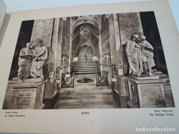 Libros antiguos: FABULOSO LIBRO DE FOTOLITOGRAFIAS ROMA 130 TAVOLE 100 AÑOS - Foto 21 - 237906240