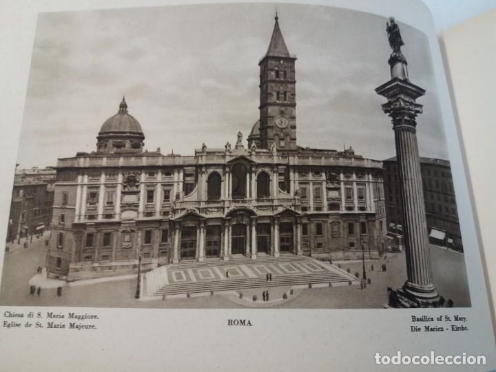 Libros antiguos: FABULOSO LIBRO DE FOTOLITOGRAFIAS ROMA 130 TAVOLE 100 AÑOS - Foto 22 - 237906240