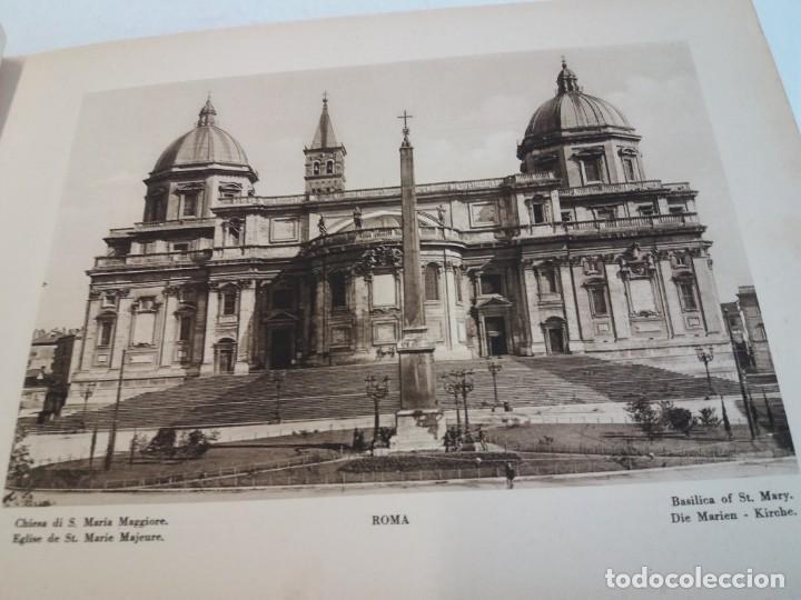Libros antiguos: FABULOSO LIBRO DE FOTOLITOGRAFIAS ROMA 130 TAVOLE 100 AÑOS - Foto 23 - 237906240
