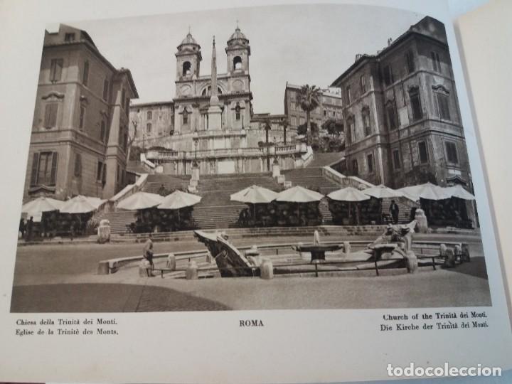 Libros antiguos: FABULOSO LIBRO DE FOTOLITOGRAFIAS ROMA 130 TAVOLE 100 AÑOS - Foto 24 - 237906240